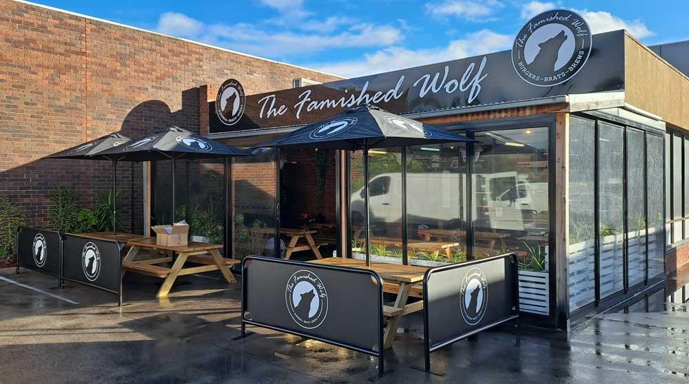 The Famished Wolf Braeside Shop Restaurant