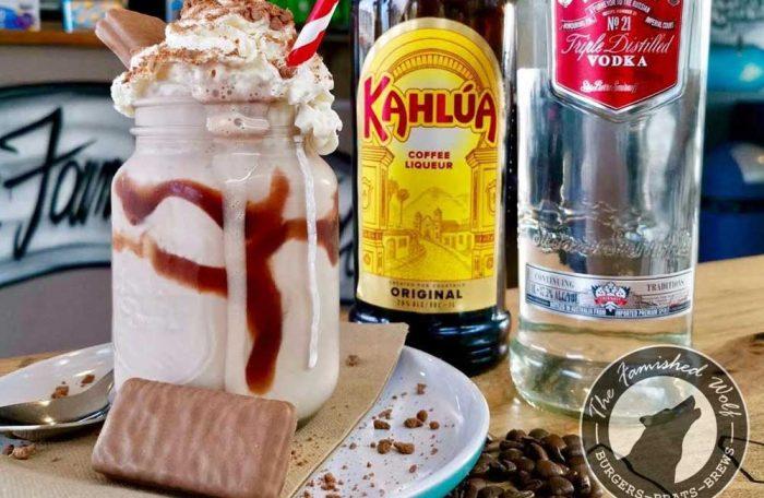 Tim Tam Espresso Martini Milkshake