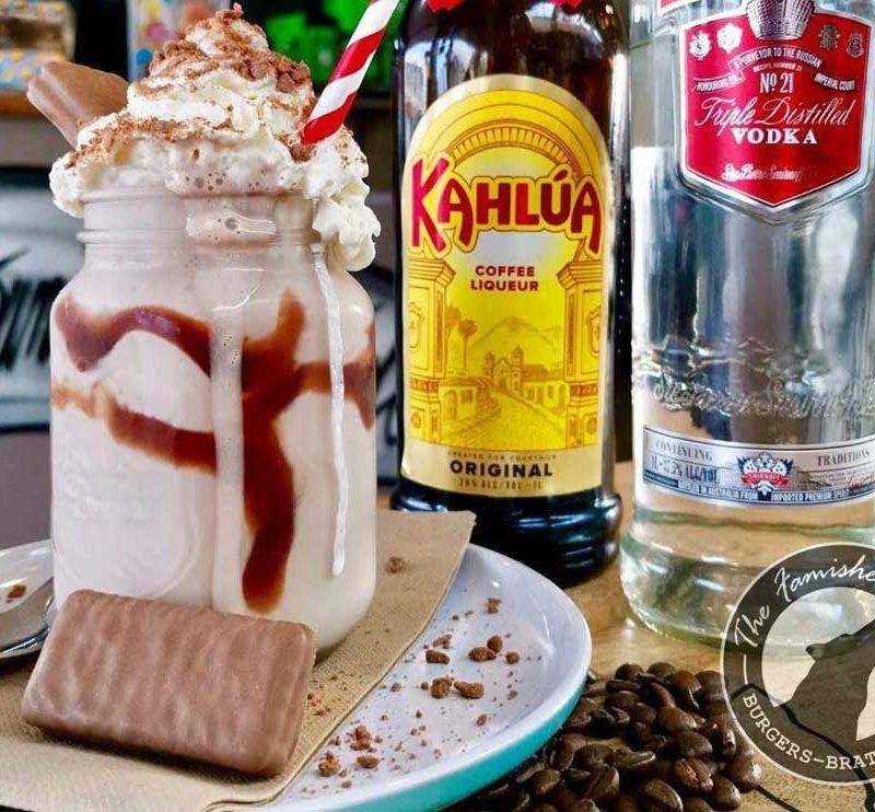 The Famished Wolf - Tim-Tam-Espresso-Martini-Shake